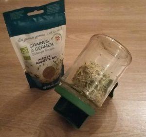 Les graines germées et leurs atouts